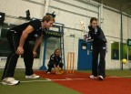 Indoor cricket: red in tooth and claw